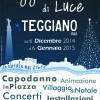 Natale e Capodanno a Teggiano: luminarie, iniziative, musica, mercatini e tanto altro fino al 6 gennaio