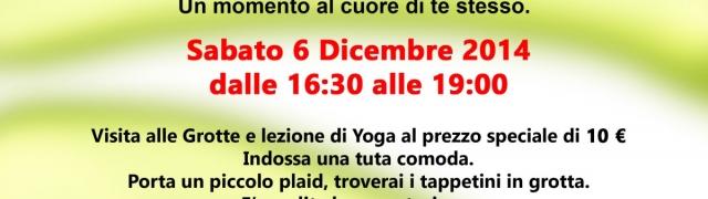 Yoga e meditazione in musica alle Grotte di Pertosa
